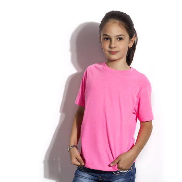 Majica Neon Kids - neon roza