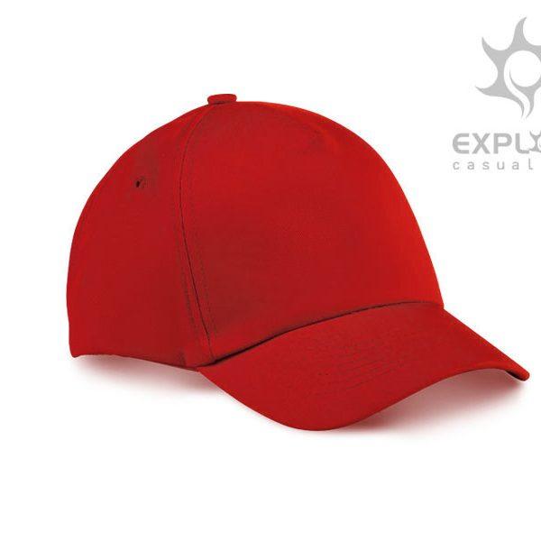 Dječja kapa Junior - crvena