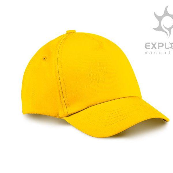 Dječja kapa Junior - žuta