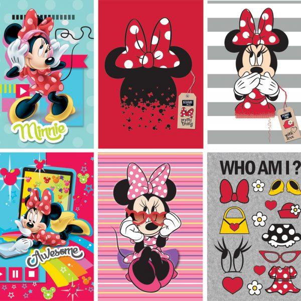 Bilježnica A4/D Disney Minnie 42L P10/60
