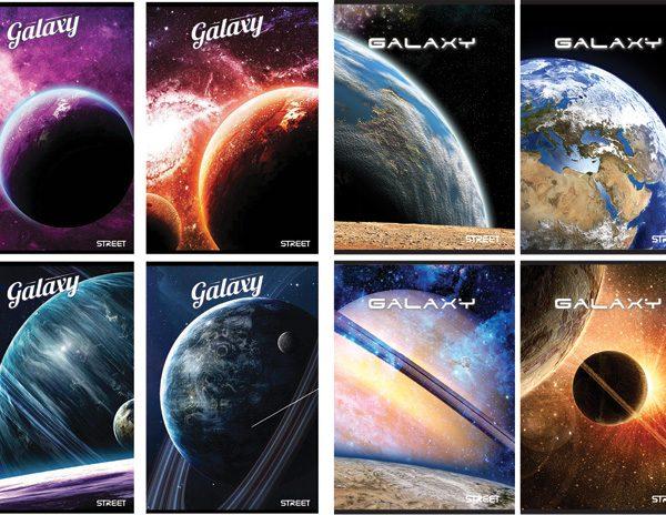 Bilježnica A4/D Street Galaxy