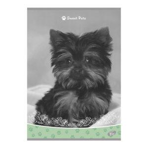 Bilježnica Sweet Pets zelena