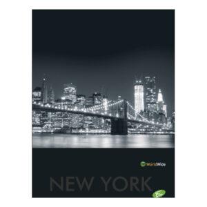 Bilježnica meki uvez New York