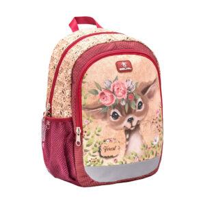Ruksak vrtićki Belmil Kiddy Plus Animal Forest Bambi