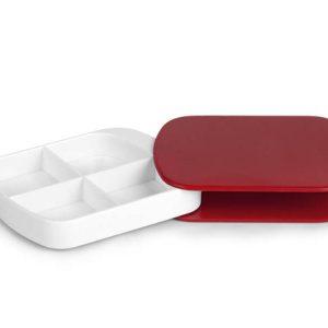 Pill box - crvena