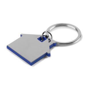 Metalni privjesak kuća-plava