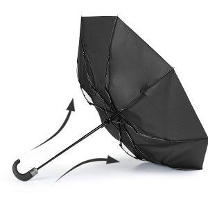 Sklopivi vjetrootporni kišobran, 8 panela