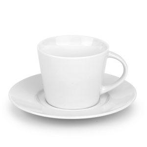 Porculanska šalica i tanjurić za cappuccino