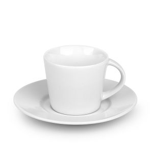 Porculanska šalica i tanjurić za espresso