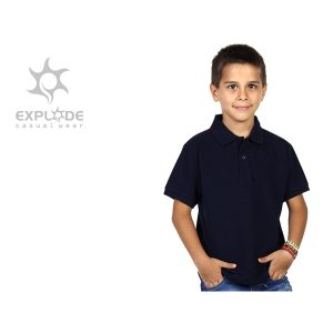 Majica Azzurro kids - plava
