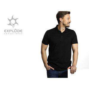 Majica polo Uno - crna