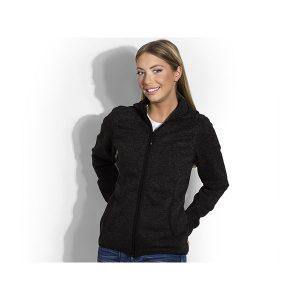 Ženska majica/vesta dugih rukava sa kapuljačom
