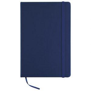Notes A5 crte 96L šamoa s gumicom tamno plavi