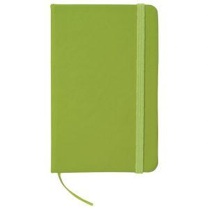 Notes A6 crte 96L šamoa s gumicom svijetlo zeleni