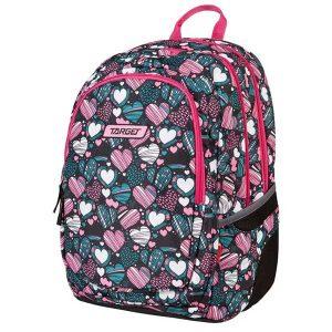 Ruksak školski Target 3 Zip Endless Love