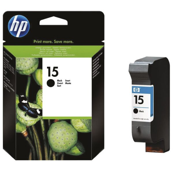 Ink Jet HP. no.15 C6615DE Dj 840 original crni