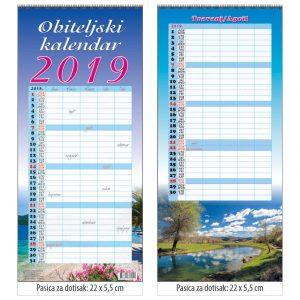 Kalendar Obiteljski kalendar