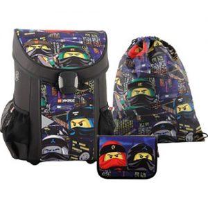 Lego-Ninjago-Urban-3u1-set-Skolska-torba-pernica-vrecica-za-papuce