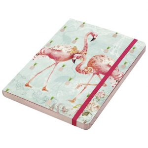 Notes A5 crte 96L 100g s gumicom Flamingos Gorjuss