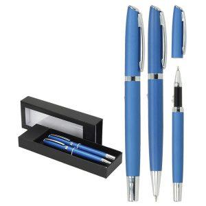 Set-pisaći-Toledo-New-kemijska-olovka-i-roler-plavi