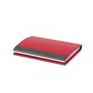 Kutija za vizitke Rivera - crvena