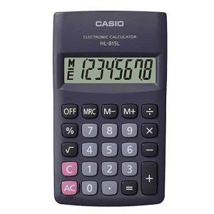 Kalkulator CASIO HL-815L-BK crni