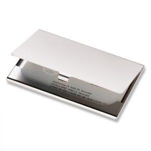 Kutija za vizitke Rivera - bijela