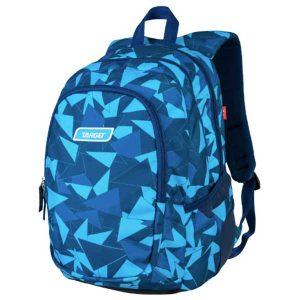Ruksak školski Target 3 Zip Duel Blue