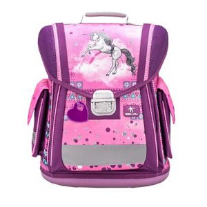 Torba školska Belmil Sporty Pinky Unicorn