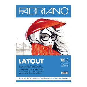 Blok Layout za markere Fabriano