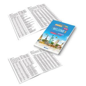 Bilježnica Karbon strani jezici memo