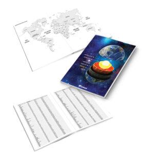 Bilježnica Karbon zemljopis memo