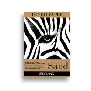 Tonirani papir, boja pijeska Fabriano