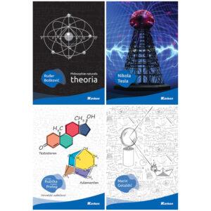 Bilježnica A4/K Karbon znanost