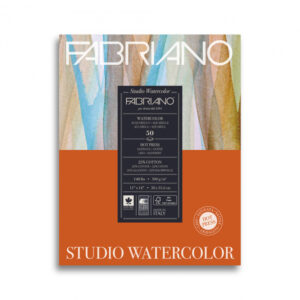 Blok studio watercolor Fabrino