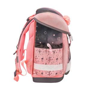 Torba školska Belmil classy ballerina black pink