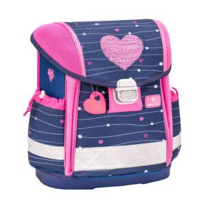 Torba školska Belmil classy simple heart