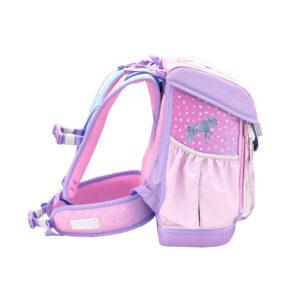 Torba školska Belmil customize me rainbow unicorn