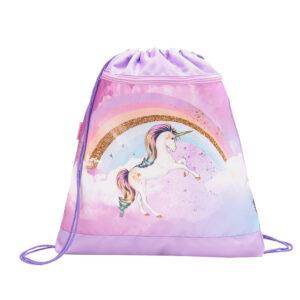 Vrećica za papuče Belmil rainbow unicorn