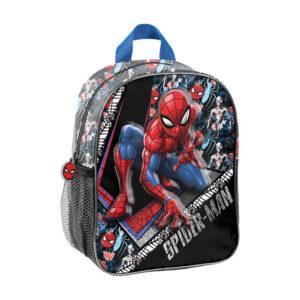 Ruksak vrtićki 3D Spiderman crno/crveni