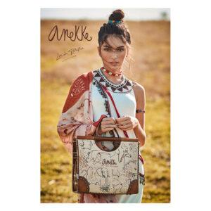 Torba fashion ceker Anekke KENYA Safari Fusion
