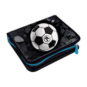 Pernica puna 1zip 2preklopa Football 1A Connect crno-siva